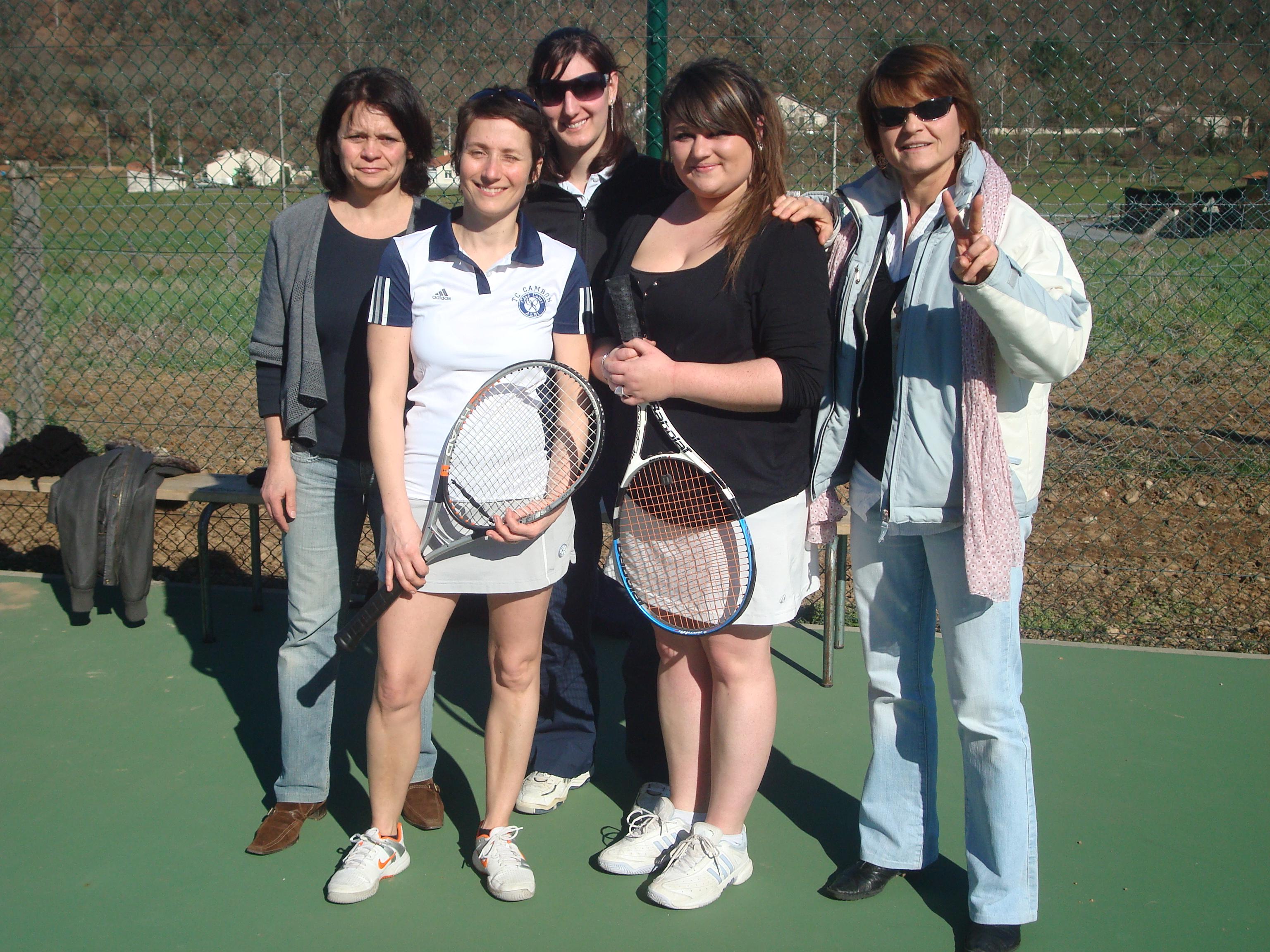 Rencontre tennis